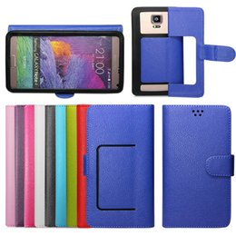 "Wholesale Apple Iphone Size - Universal Cell Phone Folio Wallet Case with Silicone Soft Cover For 6 Different Size 3.5""-6.0"""