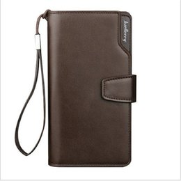 Wholesale Key Chains Korean Wholesale - Top Quality leather long wallet men pruse male clutch zipper around wallets men women money bag pocket mltifunction bag205