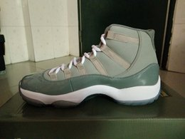 Wholesale Retail Coolers - basketball shoes retro 11s Cool gray men athletic shoes retail wholesale 378037-001