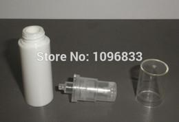 10 мл Белый безвоздушного бутылки, вакуумный лосьон насос бутылки 10 грамм, косметическая или медицинская упаковка бутылки, 100 шт./лот от