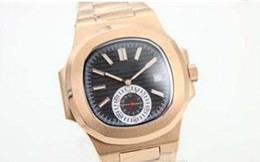 Wholesale Golden Mechanical Wrist Watch - Luxury Brand Black Dial Golden Stainless Belt Whatches Golden Populer Stainless Pointer Watch Mens Fashion Wrist Watches