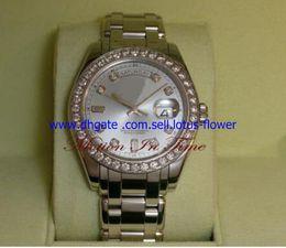 Wholesale Mens Masterpiece Watch - 2017 Luxury High Quality Sapphire Glass Mechanical Watch Diamond 39mm Men's Platinum DIAMOND MasterPiece Model 18946 Automatic Mens Watches