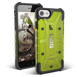 Wholesale Iphone 5s New Tpu - NEW phone case For iphone 5S 6 6S 7 7S plus Hybrid Transparent Shockproof Dirt-resistant Armor Hard Case Cover DHL