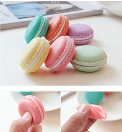 Wholesale Charm Containers - Mini Cosmetic Jewelry Storage Boxes Containers Macaron Cute Candy Color Pill Case Charm Birthday Gift Valentine Chocolates Packing
