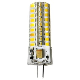 Wholesale Halogen Pin Bulbs - G4 bright LED 12V crystal lamp bulb energy-saving bulb light source halogen bulb 7W pin 220V