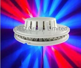 2019 речевой управляющий лазер Лазер НЛО свет этапа Сид голосового управления Лазерная подсолнуха свет портативный лазерный освещение сцены RGB из светодиодов 48