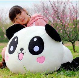 Wholesale Panda Bear Birthday - Wholesale- Wholesale panda doll lie prone to lie prone bear plush toy stalls selling wedding dolls to send birthday girl