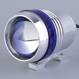 Wholesale Motorcycle Laser - CREE U3 laser gun motorcycle LED headlamps 30W angel eye aperture built-in