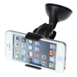 Wholesale Phone Pdas - Universal Mobile Phone PDA In Car Windscreen Suction Mount Holder Cradle Stand CPA_331