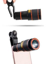 Cep Telefonu Teleskop 12X Zoom Lens Büyütme Büyüteç Optik Telefoto Kamera Lens iPhone Samsung Galaxy HTC Perakende Paketi nereden samsung için zoom lens tedarikçiler