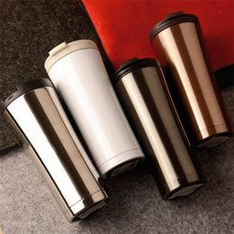 Wholesale wholesale starbucks coffee mugs - Hot Sale Starbucks Wholesale Stainless Steel Vacuum Cup Luxury Car Business Mugs Fashion Creative Coffee Cups