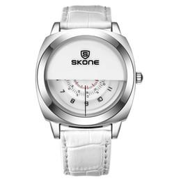 Wholesale Women S Quartz Wrist Watch - Fashion Watch Women Luxury Brand Analog Quartz Watch with Three Dial H Min S Waterproof Leather Wrist Watch Woman Clock Drop Shipping