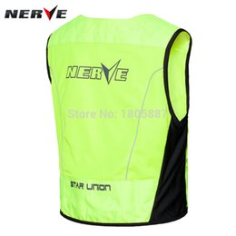 Wholesale Riding Shirt Motorcycle - 2016 Hot-sell High Visibility Motorcycle Vest motorbike bike Racing reflective warning cloth vest Reflective Safety Clothing For Moto Riding