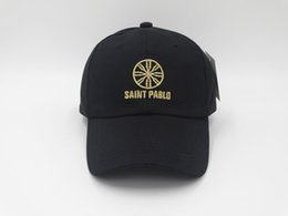 Good Style Kanye West Saint Pablo cap World Tour-Merch-Dad Hat Embroidery  snapback bone summer baseball caps adjustable sun hat golf caps b7626dac6d8f
