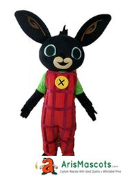 Wholesale Adult Mascot Costume Bunny - AM0444 Bunny Rabbit Bing mascot costume from CBeebies, adult fancy dress