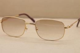 Deutschland Hot 1188006 Platz Metall Sonnenbrillen Brille Männer berühmte Marke Hohe Qualität Vollformat Metall Sonnenbrille Rahmengröße: 56-20-135mm cheap frame 56 Versorgung