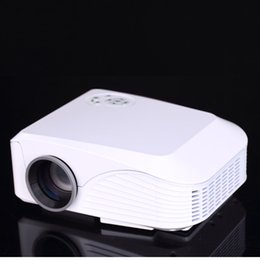 Wholesale hdmi equipment - Wholesale-More Than 120 Inches Size Mini Projector LED Home Theater DJ Equipment HD Projector Support 1920*1080 Can Drop Shipping