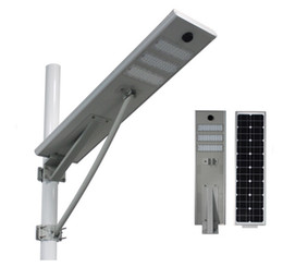 Wholesale Industrial Solar - Solar power panel 50W solar street light solar late-model powered outdoor path lights all in one sensor Light body induction philipchips