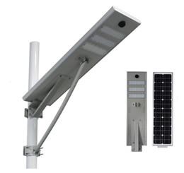 Wholesale Solar Models - Solar power panel 50W solar street light solar late-model powered outdoor path lights all in one sensor Light body induction philipchips