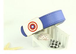 Wholesale red webbing - Wholesale- children webbing belt waist belt Girls Boys Kids PU Belts fashion casual belts Y158