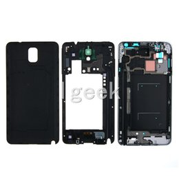 Wholesale Oem Phone Parts - OEM Phone Full Housing Bezel Cover Case shell for Samsung Galaxy Note 3 N900 N9005 Repair Parts free DHL