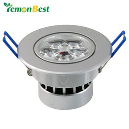 Wholesale 15w Led Chip - Wholesale- 15W 5x3W Ceiling Downlight Epistar chip LED ceiling lamp Recessed light 85V-245V for home illumination 5pcs lot