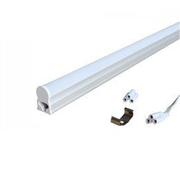 Wholesale t5 5w - Integrated T5 LED tube lights 30CM 60CM 90CM 120CM 5W 9W 13W 18W SMD2835 Led fluorescent light lamps warm nature cool white 85-265V