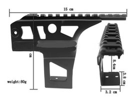 Wholesale Tactical Side Scope Mount - Tactical AEG 20mm Side Rail Scope Mount for AK47   AK47S   AK74