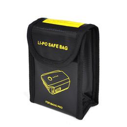 Wholesale Drone Lipo - 3pcs Lipo battery safty bag storage bag for DJI Mavic Pro RC Drone battery