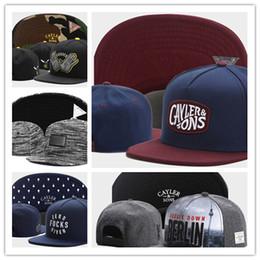 73989321e6a Gorras snapback brooklyn Online-Neuer Entwurfs-Großverkauf Cayler Söhne  Baseballmützen Brooklyn-Stickereihüte Hysteresen