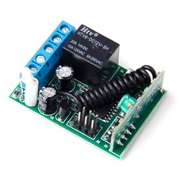 Wholesale Receiver Learning Code - Wholesale- 1 Button 315MHZ Receiver Controller For Wireless RF Remote Control Learning Fixed Code Jog Inter Self-lock A629