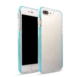 Wholesale Iphone Google Phone - For iPhone X 8 7 6 6s Plus Transparent PC TPU Silicone Hybrid Phone Case For Samsung Note 8 S8 Plus Google Pixel XL OPPBAG