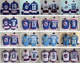 Wholesale Winnipeg Jersey - Winnipeg Throwback 10 Dale Hawerchuk Jersey Men Hockey Vinatge 13 Teemu Selanne 27 Teppo Numminen 11 Koivu 16 Laurie Boschman 9 Bobby Hull