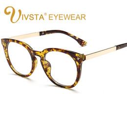 Wholesale China Eyeglasses Frames - IVSTA Oversized Large Glasses can be Without Lenses Women's Spectacle Frame China Eyeglasses Prescription Diopter Gafas 8115