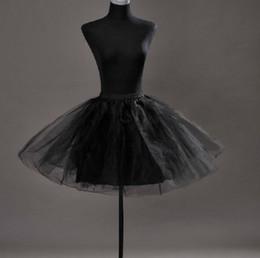 Wholesale Slip Dresses For Girls - Petticoat hoop skirt panniers underskirt crinoline for bridesmaid dress prom dress little girl dress