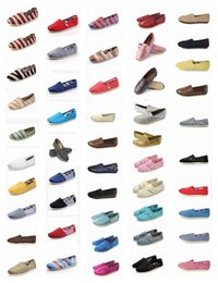 b2be48b8240e Promotion Multi Colors Brand New Unisex Classic Fashion Flats Shoes  Sneakers Women and Men Canvas Shoes loafers casual shoes Espadrilles