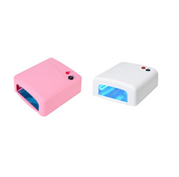 light cure Coupons - 36w Curing Nail Dryer UV Lamp Light Salon Spa Acrylic Gel 36 Watt White free shipping