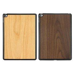 Wholesale Smart Cover Ipad Wood - For iPad mini 3 Smart Cover Wood Back Cases iPad mini 4 Mini Tablet Case Cover