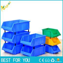 Wholesale Plastic Parts Storage Box - New arrival Plastic part box classify storage box bin in ecommerce warehouse garage classify storage warehouse box