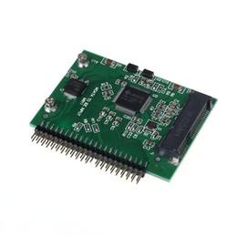 2019 ordinateurs portables d'usine Gros-prix usine MOSUNX vente chaude mSATA SSD à 44 broches IDE convertisseur adaptateur comme 2.5 pouces IDE HDD pour ordinateur portable Drop Shipping ordinateurs portables d'usine pas cher