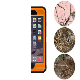 Wholesale Defender Case Camo - For Samsung S8 Plus Camo Defender Robot Waterproof Cover With Belt Clip For Iphone 8 7 6 6s plus With Retail Package