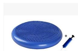 Wholesale Wheel Pump - Wholesale-Balancing ball yoga massage cushion balancing pad soft balancing wheel strengthen pump
