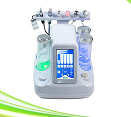 Wholesale Microdermabrasion Machines For Sale - 6 in 1 oxygen therapy facial crystal microdermabrasion skin care whitening machine for sale