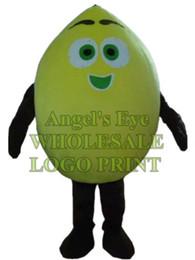 Wholesale Lemon Fancy Dress - lemon mascot costume limon adult size customizable fruit theme anime cosply costumes carnival fancy dress suit kits 3235