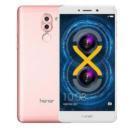 Wholesale Ebook 32gb - Original Huawei Honor 6X 5.5inch Android6.0 4G-LTE SmartPhone Hisilicon Kirin655 Octa Core Dual Rear Camera 4GB RAM 64GB ROM Cellphone