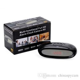 Wholesale Camera Controler - 1080P Remote controler clock Spy camera Support photo video and Motion Detection