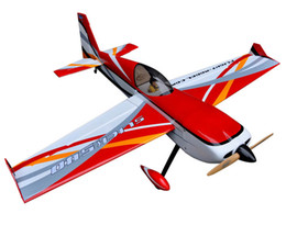 "Wholesale Balsa Airplane Models - Wholesale- Flight Model New Design Slick 64"" 20CC Fixed Wing RC Radio Controlled Airplane Model Gasoline & Glow Balsa Wood Plane Aircraft"