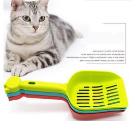 Wholesale Cat Litter Wholesale - Portable Cat Cleaning Shovel Kitten Litter Scoop Dog Pet Poop Scoop Wholesale