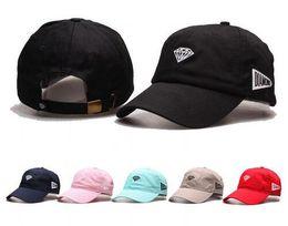 Wholesale Hat Wholesalers - Wholesale- Diamonds Snapback Hat for Men Baseball Caps Women Man Hip Hop Adjustable Dad Hats Winter Fashion casquette gorras planas