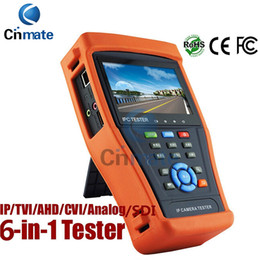 Wholesale Touch Discovery - 4.3 Inch Touch Screen IP Camera Tester CCTV Tester Analog Tester with HD-TVI HD-CVI AHD SDI POE IP discovery Rapid ONVIF WIFI HDMI 4300ADHS